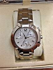 NEW MENS CONCORD LA SCALA 0309731 CHRONOGRAPH AUTOMATIC STAINLESS STEEL WATCH
