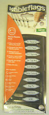 NEW KABLEFLAGS HOME THEATRE PACK CABLE FLAGS IDENTIFICATION TAGS FREE SHIP -