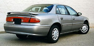 PAINTED TO MATCH CUSTOM STYLE REAR SPOILER FOR A 1997-2005 BUICK CENTURY 4-DR