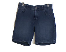 Lee Total Freedom Womens Dark Wash Blue Jeans Shorts Size 6