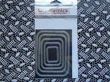 My Favorite Things Die-Namics Inside & Out Stitched Rounded Rectangle STAX ~ New
