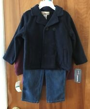 """Kids Headquarters """"Dirt Magnet"""" 3 Pc Jacket Outfit Size 24 M Boys NWT $49.50"""