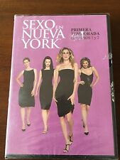 SEXO EN NUEVA YORK - TEMPORADA 1 EPS 1 & 2 - SERIE TV - 1 DVD - 48 MIN - NUEVA