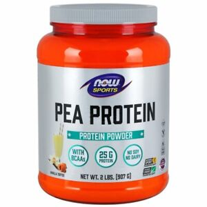 Pea Protein Vanilla Toffee 2 lbs by Now Foods