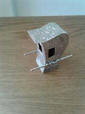 Antico Solid Argento continential giocattolo Berlina Sedia c1900 PSEUDO Marks