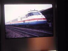 Original Slide train RR Station Yard Amtrak Rochester New York Turbo dock bay dd