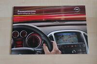 73710) Opel Corsa D Meriva Insignia - Pressespiegel - Prospekt 05/2010