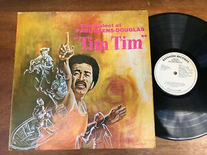 PAUL KEENS DOUGLAS The Dialect of TIM TIM Trinidad 1st Press Vinyl LP Record 76