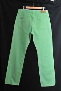 "Fantastic Gant 100% Cotton Regular Fit Green Jeans Trousers W35"" L34"""