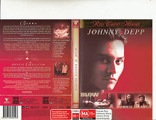 Blow-2001-Johnny Depp/Donnie Brasco-1997-2 Disc-2 Movie-DVD