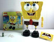Lego SpongeBob SquarePants Set 3826 Build-A-Bob Complete but No Box