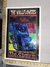MB/2001 Rock Roll Concert Poster The Wallflowers FGX S/N LE # 200 peace sign
