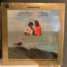 "JOHN WILLIAMS & ANDRE PREVIN - Concertos (Quadraphonic) 12"" Vinyl Record LP - EX"