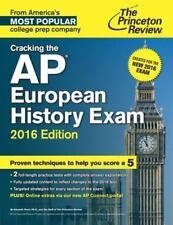 Cracking the AP European History Exam, 2016 Edition, Princeton Review