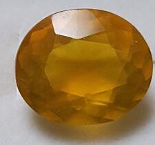 Genuine 9.45 Carat Lemon Quartz Citrine Loose Stone Gemstone 14 mm x 12mm