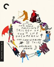 Criterion Collection The Trilogy of Life Pasolini Bluray Brand New
