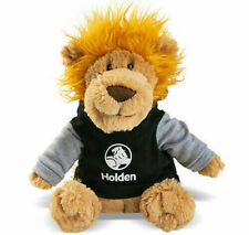 Holden Lion Plush Pong Teddy | Black & grey hoodie with Holden logo