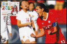CANADA #2837.3 - FIFA WOMEN's WORLD CUP 2015 - CHRISTINE SINCLAIR MAXICARD # 3
