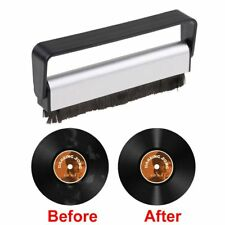 Professional Anti-Static Vinyl Record Velvet Cleaning Cleaner Pad Brush Audio UK