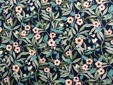 BRIGHTON  BLOSSOM C 1.00 METRE BY LIBERTY ON TANA LAWN COTTON, LATEST COLLECTION