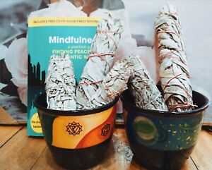 Organic White Sage -Cleaning-Native American_Removing Negativity-Smudge-Large