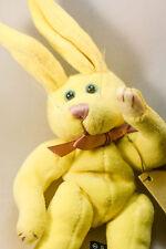 Boyds Bears: Daffodil Dela Hoppsack - Yellow Plush Bunny - 7 inches