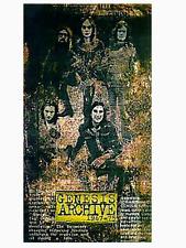 GENESIS - ARCHIVES VOL 1: 1967-1975. COMPLETE 4-CD/BOOK/BOX SET. PETER GABRIEL.