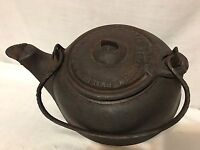 Antique Cast Iron Phillips & Buttorff Tea Pot Kettle #6 On Spout