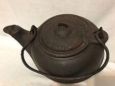 Antique Cast Iron Phillips & Buttorff Tea Pot Kettle #6 On Spout
