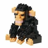 Nanoblock Mini Critters Series Chimpanzee by Kawada NBC 186 NEW