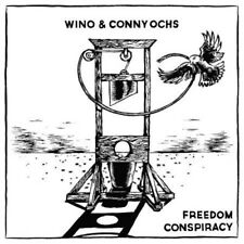 Wino & Conny Ochs : Freedom Conspiracy CD (2015) ***NEW*** Fast and FREE P & P
