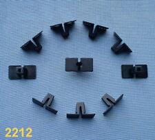 (2212) 10x Spreizmutter Zierleistenklammern Klammer leiste Clipse Zierleiste