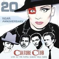 CULTURE CLUB – LIVE AT THE ROYAL ALBERT HALL 20th ANN 2x VINYL LP (NEW/SEALED)