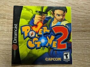 Power Stone 2 Dreamcast original instruction manual