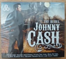 Johnny Cash The Rebel 3 CD SET NEW & SEALED