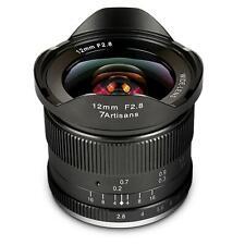 7 artisans 12mm f/2, 8 para Fuji X