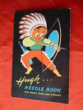 etuit d'eguilles hugh needle book you find inside pour couture