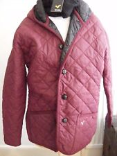 LADIES JACKET  voi jeans maroon ladies quilted coat NEW WITH TAGS sz XL