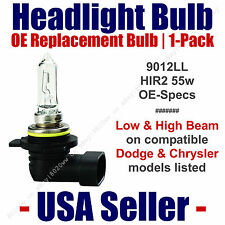 Headlight Bulb High/Low Beam OE Replacement Fits Listed Dodge & Chrysler - 9012