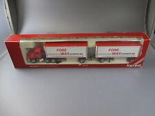 """Herpa:Mack Gigaliner Hängerzug """"Fore Way Express Inc""""   (SSK5)"""
