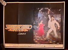 SATURDAY NIGHT FEVER 1977  , ORIGINAL   UK QUAD POSTER 30 x 40 inches