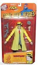 "Dick Tracy 6"" Limited Variant Figure Indie Spotlight 2 Comic Heroes New MOC Mint"