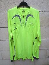 Maillot ADIDAS FORMOTION ARBITRE football jaune shirt trikot camiseta maglia XXL
