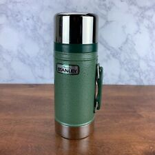 Stanley Thermos Vacuum Bottle 24 oz. Wide Mouth, A-1350B ,USA, Green