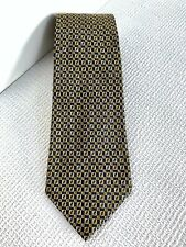 Authentic Fendi Zucca FF Monogram 100% Silk Tie