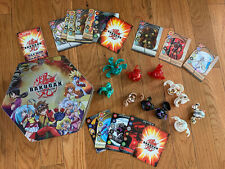 Bakugan Battle Brawlers Collection 11 Brawlers, 15 Magnetic Cards Tin Lot
