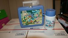 Vintage Tiny Tunes Adventures 1990 Lunch Box and Thermos