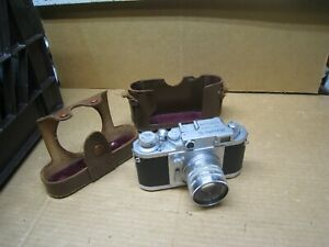 Vintage Estate Find Camera - Minolta 35 No. 73448 Chiyoda Kogaku w/ Case