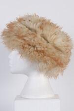 Vintage Genuine Winter Sherpa & Suede Hat Cossack European Warm Multi L - HAT139