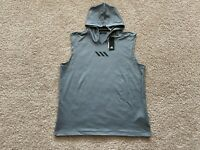 NEW Adidas Pro Madness basketball sleeveless hoodie men XL